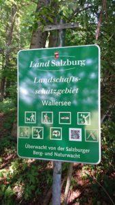 Land Salzburg überwacht Marieninsel
